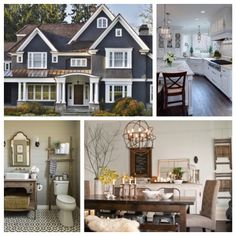 """This is so fascinating!  Pinterest recently revealed their most popular home """"pins"""", providing a peek at the Pinterest User 2015 dream home boasting clean and classic style. I concur!  #DesignEyeCandy"""