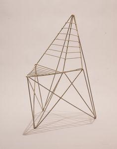Gitterstol | Folio wire chair  Nanna Kiil