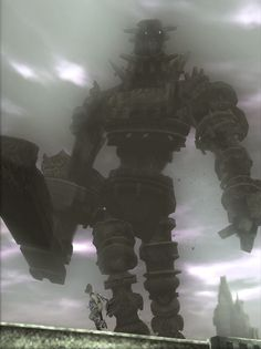 Shadow of the Colossus. A beautiful game, I can't wait for its re-release. Shadow Of The Colossus, Science Fiction, Roman, Gaming Tips, Sci Fi Art, Story Inspiration, Windmill, Game Design, Oeuvre D'art