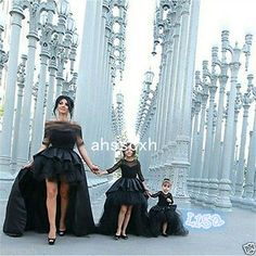 2016 Ball Gown Flower Girl Dresses Little Girls Party Dress Black Pageant Gowns  in Clothing, Shoes & Accessories, Wedding & Formal Occasion, Girls' Formal Occasion | eBay