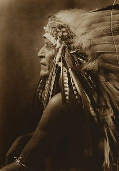 vintageportraits: Untitled (Native American in profile)