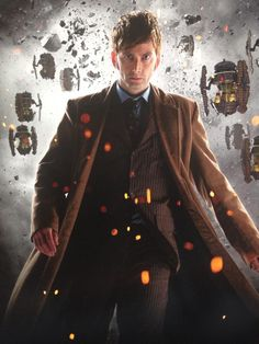 David Tennant on the cover of the new Doctor Who 50th Anniversary Collection DVD