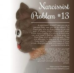Highlighting a fantastic account that has been consistently putting out quality content and having an overall positive impact on the Narcissist Abuse community. We'd like to thank you for your awesome support Narcissist Problems! I love finding memes that have actual data that we can learn from, this series of 16 problems of a narcissist. …
