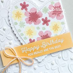 Artisan, Bloom, Stampin Up Cards, Creative, Happy Birthday, Mini, Design, Craftsman, Happy Brithday
