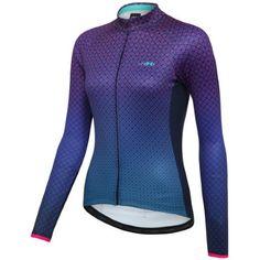wiggle.com | dhb Blok Women's Mosaic Roubaix Long Sleeve Jersey | Long Sleeve Jerseys