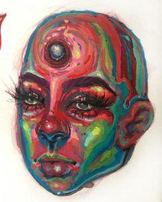 Art Sketches, Art Drawings, Art Et Design, Posca Art, Arte Sketchbook, A Level Art, Hippie Art, Wow Art, Art Hoe