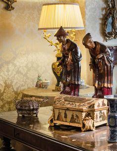 Splendid Decor of a Bolognese Palazzo, Italy