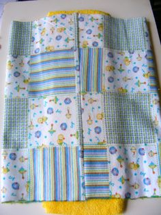 how to sew a prefold diaper