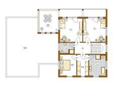 Genua Grundriss Obergeschoss