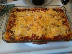 Tex-Mex Lasagna -- 8 Weight Watchers Points Plus