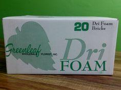 Floral Dry Foam Available at Greenleaf Wholesale Florist  Phoenix (602) 264-3781 www.greenleafwholesale.com