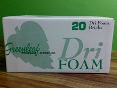 Floral Dry Foam Available at Greenleaf Wholesale Florist  Phoenix (602) 264-3781 www.greenleafwholesale.com