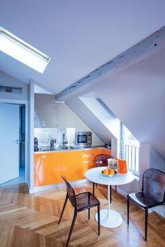 Apartment in the attic