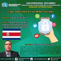 Teresa Clotilde Ojeda Sánchez: Invitación a webinar internacional de Universidad ...