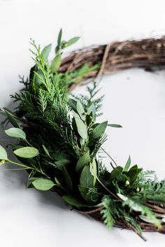 Floral Tutorial :: A Winter Woodland Holiday Wreath – coco kelley – Diy Poject Ideas Christmas Love, All Things Christmas, Christmas Holidays, Merry Christmas, Holiday Wreaths, Christmas Decorations, Winter Wreaths, Dollar Store Christmas, Diy Wreath