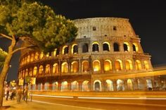 The Colosseo by night
