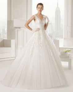 serge vestido de novia Rosa Clara