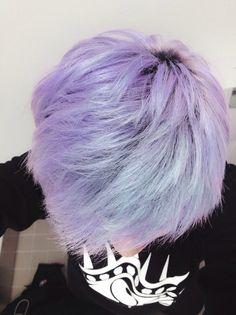 Peeeerrrrfeeeeccttt Scene Hair, Pastel Hair, Purple Hair, Purple Lilac, Funky Hairstyles, Pretty Hairstyles, Summer Hairstyles, Violett Hair, Blonde Dye