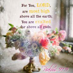 Psalms 97:9
