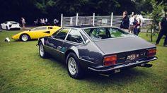 Classic Lambo Jarama GT Poses On Goodwood Lawn