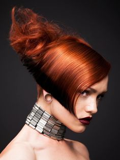 Pkai Hair - Kai Wan 2014 Collection | See the full #hair collection at salonmagazine.ca