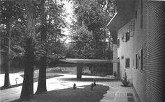Villa Namazee (Shafi and Vida Namazee), Tehran- Iran By Gio Ponti, in collaboration with Fausto Melotti and Paolo De Poli (1957-64)