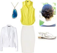 """Summer work wear..."" by heidi-stephens on Polyvore"