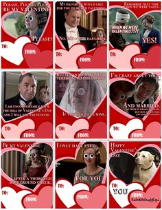 Downton Abbey Valentine's  Edith With Googly Eyes Tumblr