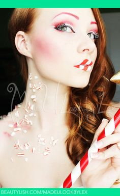 Candy Cane : Beautylish by Made U Look by Lex (Alexys Fleming)
