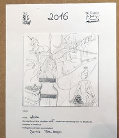 The Big Draw - Doorgeefketting 5 [08-2016]