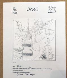 The Big Draw - Doorgeefketting 5 [08-2016]