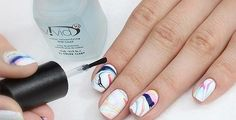 HOW TO DO WATER MARBLE NAIL ART - Before the creation of the water, it is desirable to prepare a manicure nails, apply a solid color varnish.  .... http://www.comeandglam.com/how-to-do-water-marble-manicure-technique/