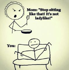 yehhh i can never sit straight and still!!! xD