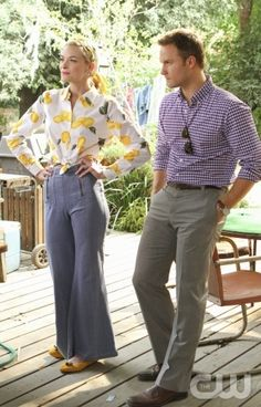 Lemon's wearing lemons! - Jaime King - Hart of Dixie