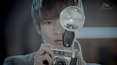 """Aww look at you, Minho!   (Screen shot from the video """"Sherlock"""" by South Korean music group SHINee)    http://www.youtube.com/watch?v=8kyG5tTZ1iE"""