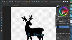 X-mass Pattern mit Affinity Designer Tutorial 3/3