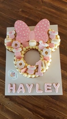 Number Birthday Cakes, Minnie Mouse Birthday Decorations, Minnie Mouse 1st Birthday, Number Cakes, 2nd Birthday, Gateau Baby Shower, Bolo Mickey, Mom Cake, Minnie Mouse Cake