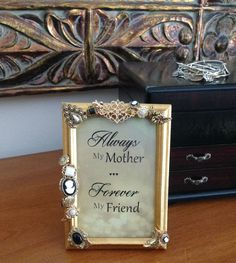 Mother's Day Frame & Quote/Mother's Day by HerFaveRitThings