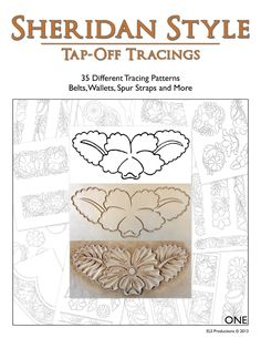 Sheridan Style Tap-Off Tracings - 35 Different Patterns