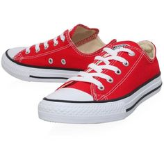 Converse Low Chuck Taylor All Star Sneaker ❤ liked on Polyvore featuring shoes, sneakers, kids shoes, pointy sneakers, converse trainers, pointy shoes, star sneakers and pointed shoes