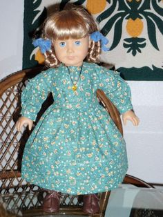 1850s Style Dress for American Girl by alohagirldollclothes, $25.00