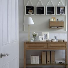 Hallway organisation station | Traditional hallway ideas | Hallway | PHOTO GALLERY | Ideal Home | Housetohome.co.uk