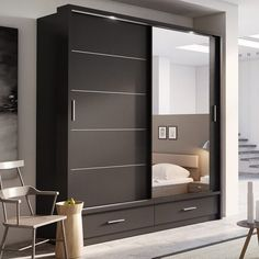Home Decoration Products Sliding Wardrobe Designs.Home Decoration Products Sliding Wardrobe Designs Wardrobe Interior Design, Wardrobe Design Bedroom, Bedroom Bed Design, Bedroom Furniture Design, Home Room Design, Home Interior, Furniture Layout, Wardrobe Laminate Design, Furniture Ideas