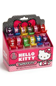 Fashion Angels Hello Kitty® 'Tapefitti' Decorative Tape (Set of 12) available at #Nordstrom