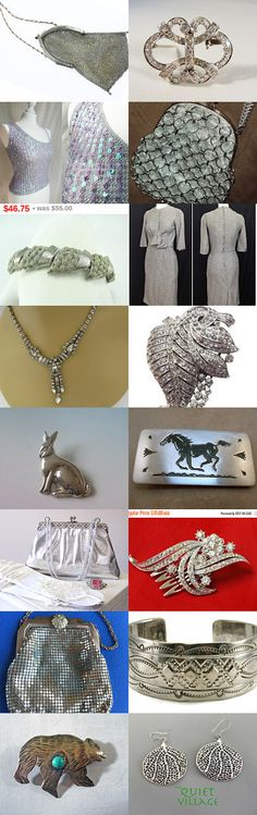 Say It With Silver Team Love Daily Treasury by Tracy B on Etsy--Pinned+with+TreasuryPin.com
