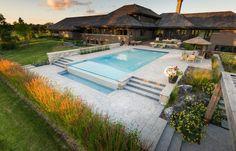 infinity pool backyard. Infinity Pools - Vanishing Edge, Zero Edge Betz Pool Backyard
