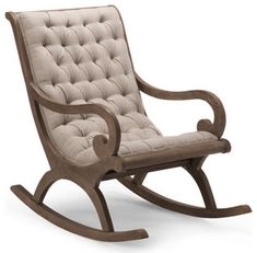 Grayson Rocker - traditional - rocking chairs - by Grandin Road Rocking Chair Nursery, Wooden Rocking Chairs, Nursery Rocker, Nursery Room, Traditional Rocking Chairs, Home Furniture, Furniture Design, Furniture Chairs, Dining Chairs
