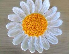 Has done a beautiful flower crochet yarn? Then not even come on .. - Crochet Free
