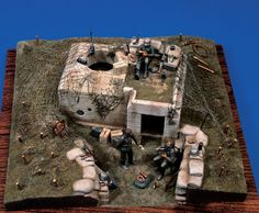 Maquette Verlinden #116 Blockhaus Modele Tobrouk 1/35