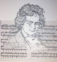 Beethoven from his own music....i would SO love to do this for my dad